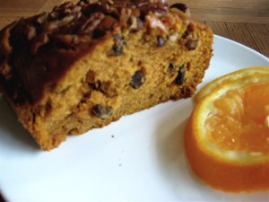 pecan pumpkin bread