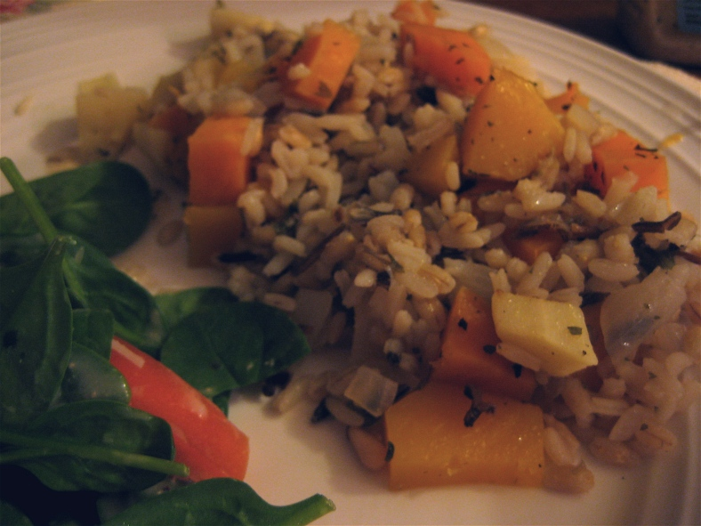 wild rice veggie bake