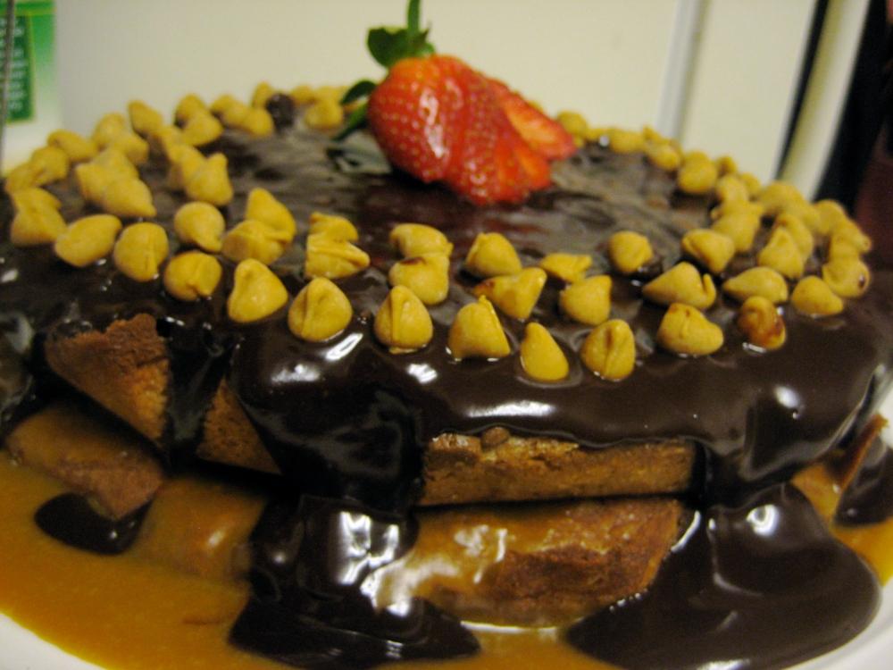 butterscotch brownie cake