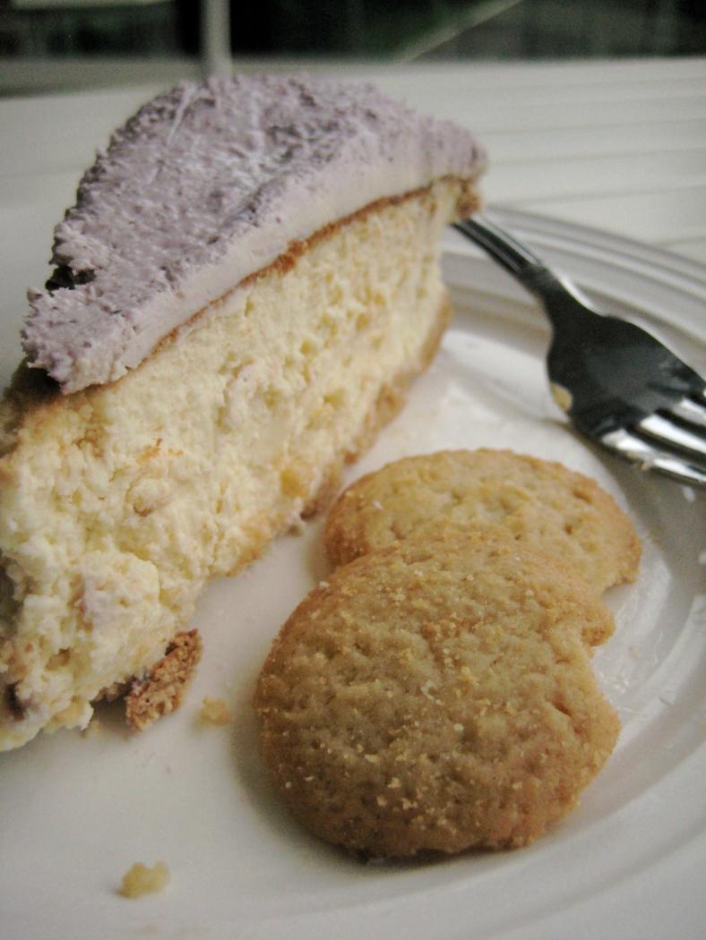 Lavender Honey Cheesecake | Voila!