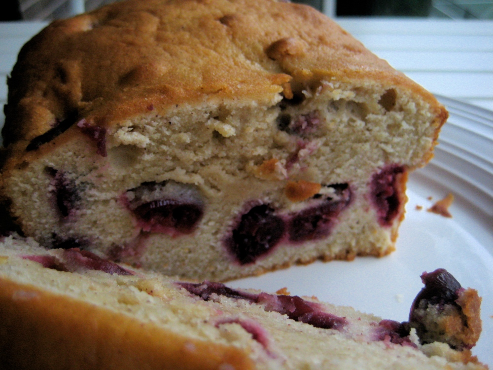 cherry yogurt pound cake