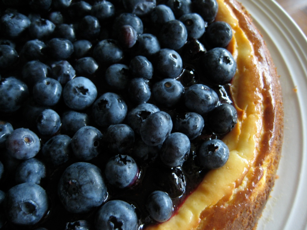 blueberry key lime cheesecake