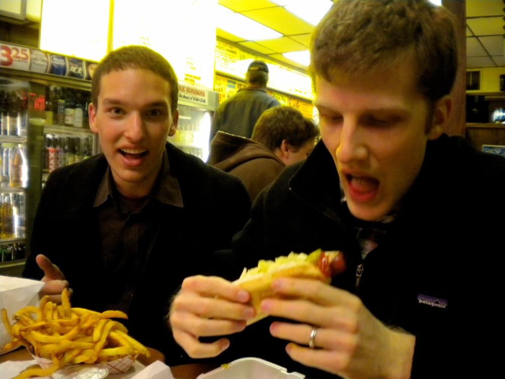 the o hot dog