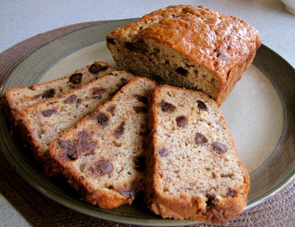 banana fig bread