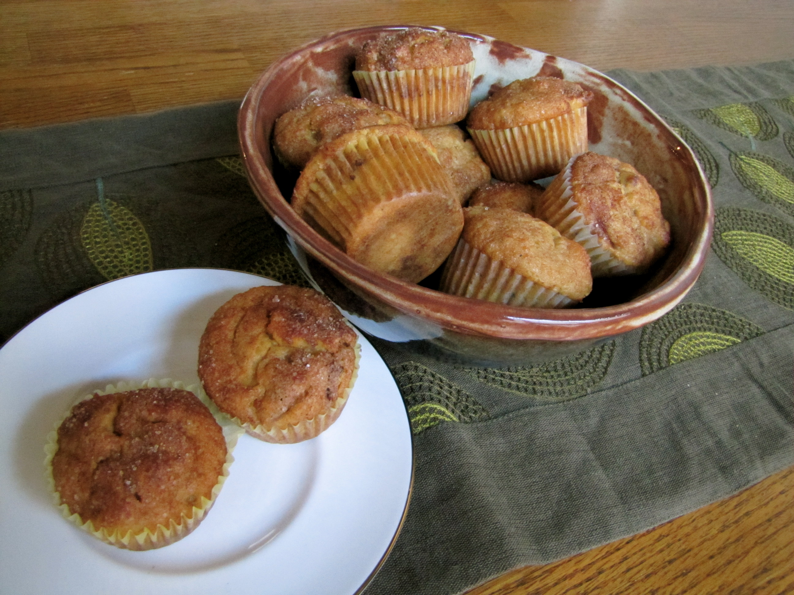 Cinnamon-Crunch Sweet Potato Muffins Recipes — Dishmaps