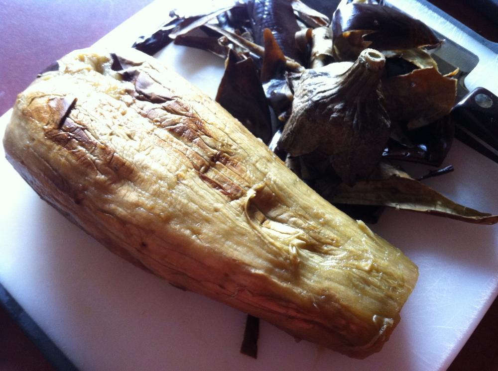 roasted eggplant baba ghanouj