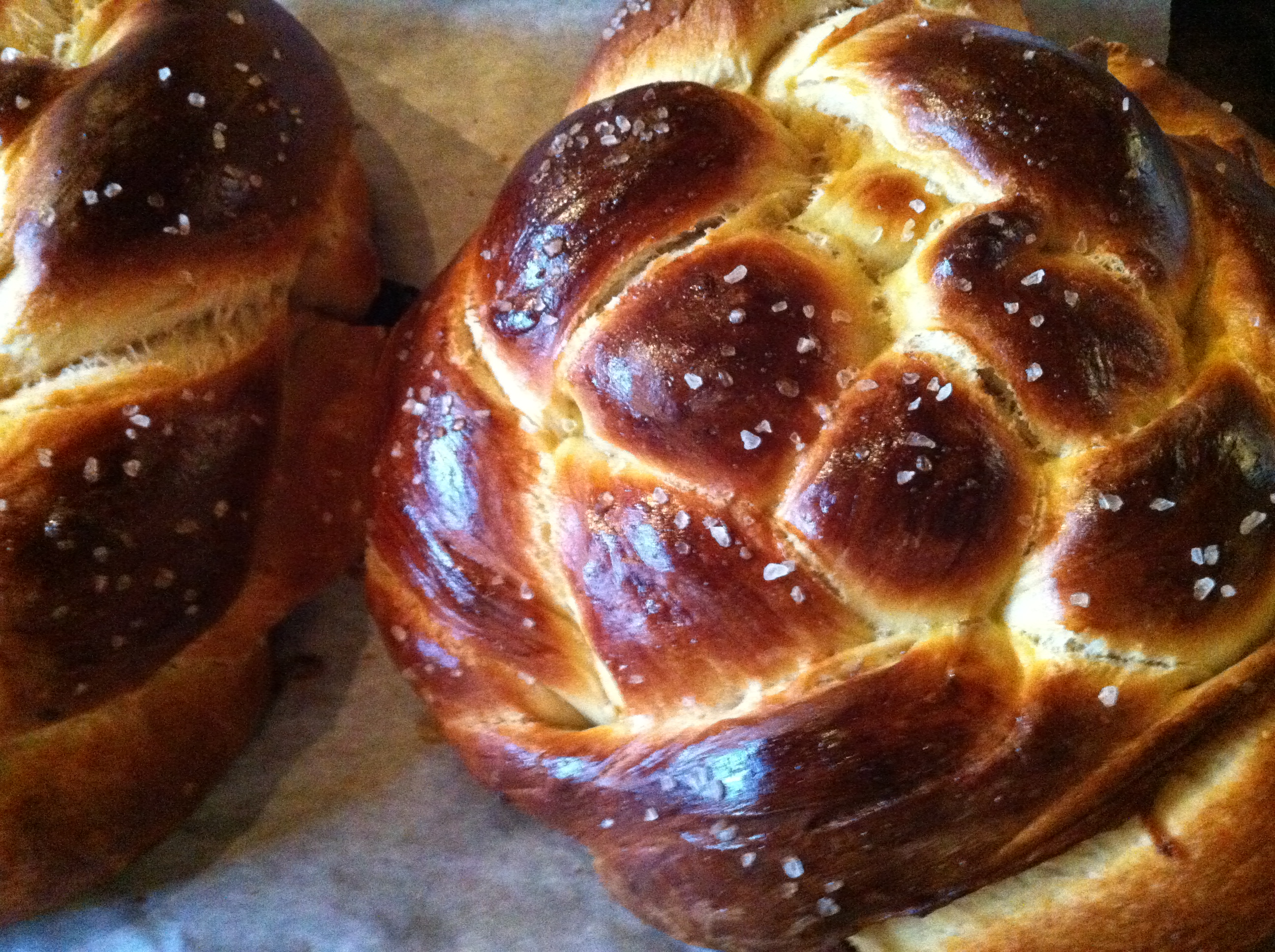 Fig, Olive Oil and Sea Salt Challah | Voila!