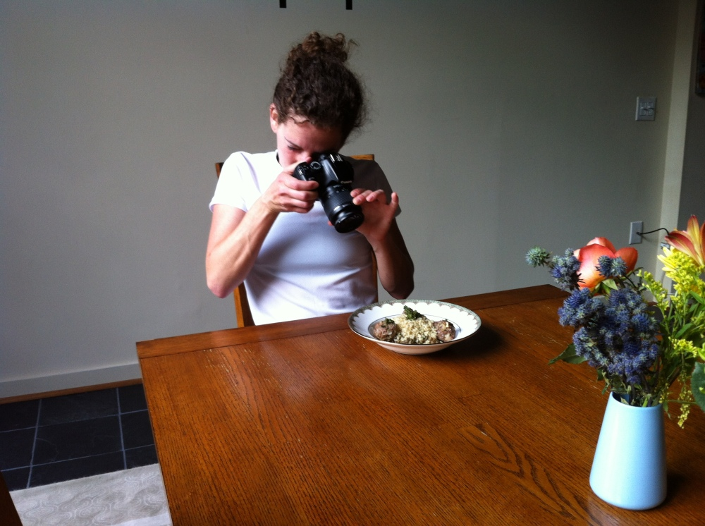 food photo session